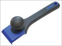 Faithfull Wood Scraper Soft Grip 4-sided Blade 62mm
