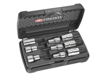 Facom STM.J9 Socket Set of 9 Hex Bit 1/2in Drive