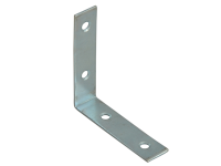 Forge Corner Braces Zinc Plated 50mm Pack of 10