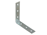 Forge Corner Braces Zinc Plated 75mm Pack of 10