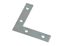 Forge Corner Plates  Zinc Plated 75mm Pack of 10