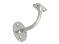 Forge Handrail Bracket - Chrome Finish - 67mm
