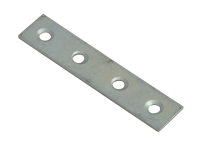 Forge Mending Plates  Zinc Plated 75mm Pack of 10