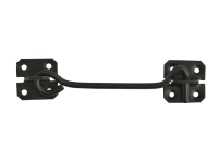 Forge Cabin Hook - Black Powder Coated 152mm (6in)