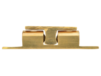 Forge Double Ball Catch - Brass Finish Pack of 2