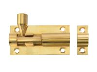 Forge Door Bolt - Brass 50mm (2in)