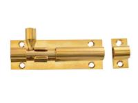 Forge Door Bolt - Brass 75mm (3in)