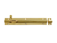 Forge Door Bolt - Brass 150mm (6in)