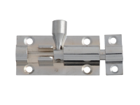 Forge Door Bolt - Chrome Finish 50mm (2in)