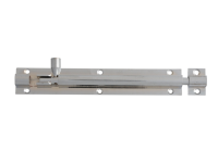 Forge Door Bolt - Chrome Finish 150mm (6in)