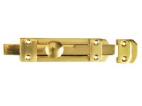 Forge Door Bolt Heavy - Brass 150mm (6in)