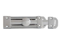 Forge Door Bolt Heavy - Chrome Finish 150mm (6in)