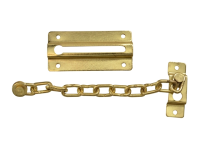 Forge Door Chain - Brass Finish Plated 80mm