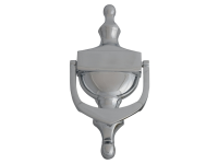 Forge Door Knocker - Victorian Chrome Finish 165mm