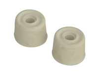 Forge Door Stop - Rubber Round Type 32mm Pack of 2