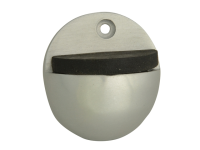 Forge Oval Door Stop Aluminium 50mm