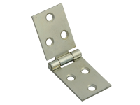 Forge Backflap Hinge Zinc Plated 25mm (1in) Pack of 2