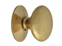 Forge Cupboard Knobs - Victorian Brass Finish 25mm Pack of 5
