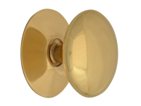 Forge Cupboard Knobs - Victorian Brass Finish 40mm Pack of 5
