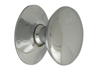 Forge Cupboard Knobs - Chrome Finish 25mm Pack of 5