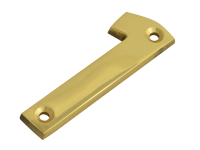 Forge Numeral No.1 - Brass Finish 75mm (3in)