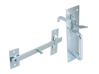 Forge Suffolk Latch - Zinc Plated