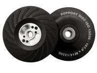 Flexipads World Class Angle Grinder Turbo Pad ISO Hard 125mm M14 x 2.0