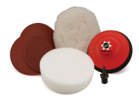 Flexipads World Class Sanding & Polishing Kit M14 & 6mm VELCRO® Brand