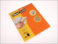 Flexovit Glasspaper Sanding Sheets 230 x 280mm Medium 80g (15)