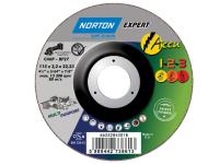 Flexovit Accu Cutting & Grinding Discs 115 x 22mm Pack of 2