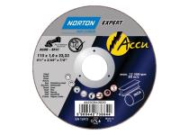 Flexovit Accu Slitting Discs 115 x 22mm Pack of 5