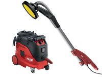 Flex Power Tools GE 5 R+TB-L Giraffe® Sander 500W 110V & VCE 33 M AC Vacuum Cleaner 1400W 110V