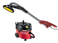 Flex Power Tools GE 5 R+TB-L Giraffe Close Edge Head Sander & VCE35 Vacuum Kit 500 Watt 110 Volt 110V