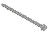 Forgefix Lightning Bolt Hex/Flange Head M6x100mm (100)