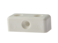 Forgefix Modesty Block White No. 6-8 Bag 100