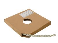 Forgefix White Plastic Coated Pre-Galvanised Band 17mm x 0.8 x 10m Box 1