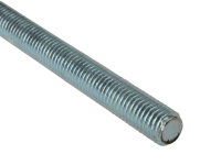 Forgefix Threaded Rod Zinc Plated M6 x 1m Single