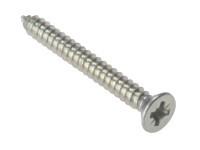 Forgefix Self Tapping Screw Pozi CSK ZP 1.1/2 x 8 Box 200