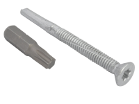 Forgefix TechFast Roofing Screw Timber - Steel Heavy Section 5.5x60mm Pack 100