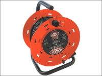 Faithfull Power Plus Cable Reel 25 Metre 13 Amp 230 Volt 230V