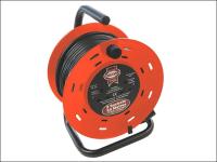Faithfull Power Plus Cable Reel 50 Metre 13 Amp 230 Volt 230V