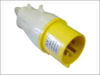 Faithfull Power Plus Yellow Plug  32 Amp 110 Volt 110V