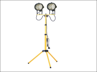 Faithfull Power Plus Sitelight Twin Adjustable Stand 1000 Watt 240 Volt 240V