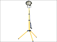 Faithfull Power Plus Sitelight Single With Tripod 500 Watt 240 Volt 240V