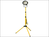 Faithfull Power Plus Sitelight Single With Tripod 500 Watt 110 Volt 110V