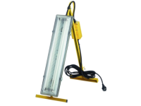 Faithfull Power Plus Plasterers Folding Light 2 x 18 Watt 110 Volt 110V