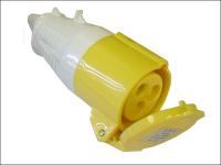 Faithfull Power Plus Yellow Socket 32 Amp 110 Volt 110V