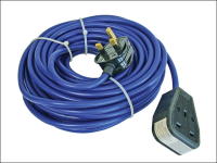 Faithfull Power Plus Trailing Lead 240 Volt 13 Amp 1.5mm Cable 14 Metre 240V