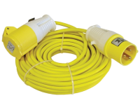 Faithfull Power Plus Trailing Lead 14 Metre 1750w 16 Amp 1.5mm Cable 110 Volt 110V