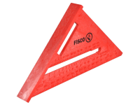 Fisco X55E Red Plastic Rafter Angle Square 175mm